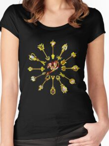 Zodiac Keys Women's Fitted Scoop T-Shirt