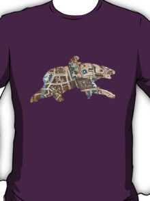 Distressed Maps: His Dark Materials Lyra's Oxford T-Shirt