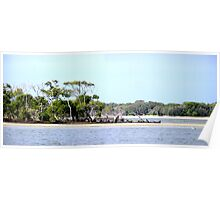 Broadwater Gold Coast Poster