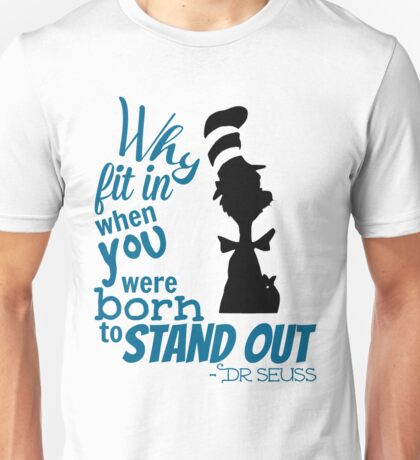 Dr. Seuss Quotes Unisex T-Shirt