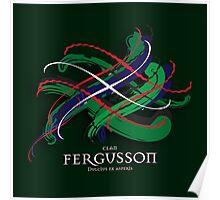 Fergusson Tartan Twist Poster