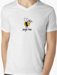 Jingle Bee Mens V-Neck T-Shirt