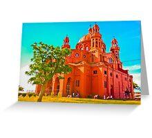 National Shrine of Cerrito de la Victoria Church Greeting Card