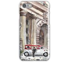 A Beautiful Taxi In Budapest iPhone Case/Skin
