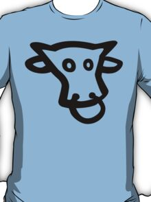 Crazy Cow (Black) T-Shirt