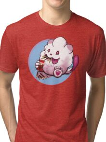 Snack time for Swirlix Tri-blend T-Shirt