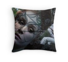 Woad 5 Throw Pillow
