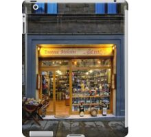 Tuscany Wine shop iPad Case/Skin