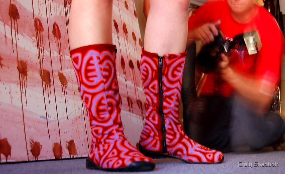 These boots were made for... by Craig Shadbolt