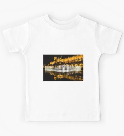 Night-time reflections Kids Tee