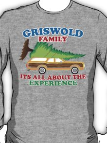 Griswold Family Christmas Its All About the Experience T-Shirt