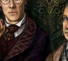 Holmes&Watson Sticker