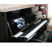 Piano Reflections Photographic Print