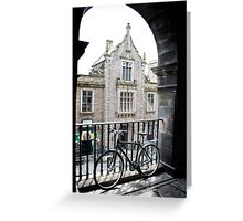 Edinburgh arch Greeting Card