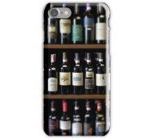 Wineshop in Tuscany iPhone Case/Skin