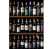 Wineshop in Tuscany Photographic Print