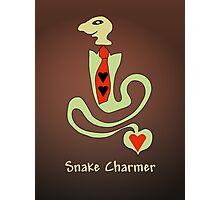 Snake charmer Photographic Print
