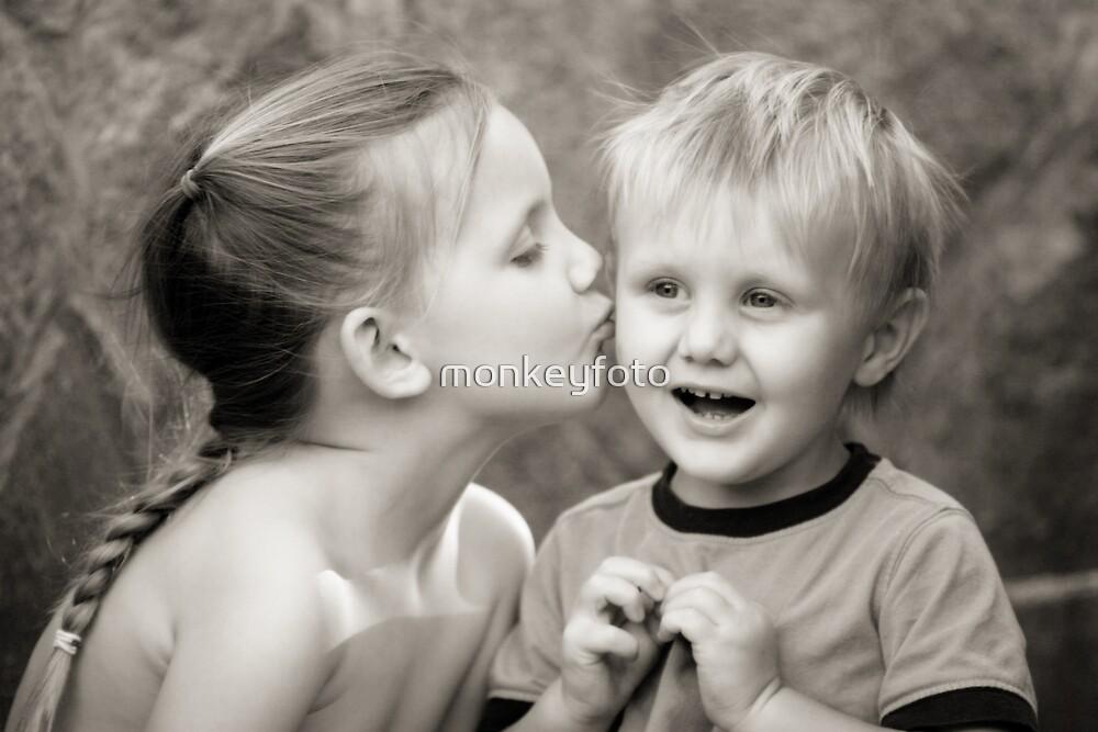 Birthday kiss by monkeyfoto