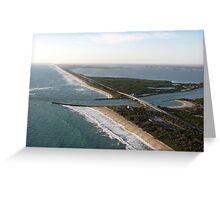 Southern Views, Sebastian Inlet Greeting Card