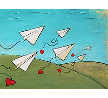 Love Notes Photographic Print