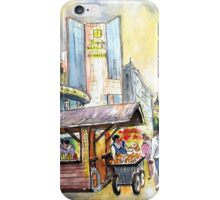 A Chimney Cake Stand In Budapest iPhone Case/Skin