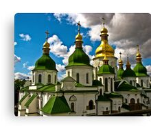 Domes of Saint Sophia Cathedral  Canvas Print