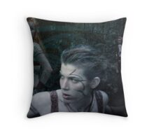 Woad 12 Throw Pillow