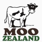 New Zealand cow t-shirt by MrCreator