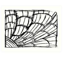 5 Shells And Planks By Chris McCabe - DRAGAN GRAFIX Art Print
