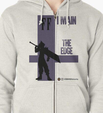 The Edge (Black) Zipped Hoodie