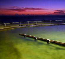 Ocean Pool Bronte by Annette Blattman