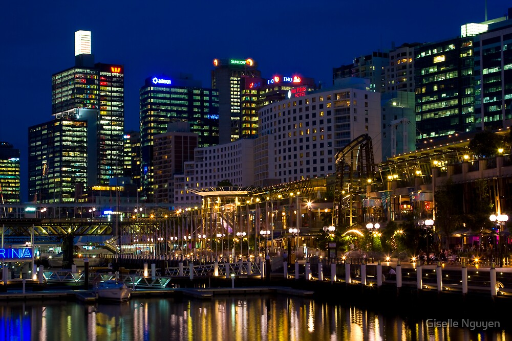 Darling Harbour, Sydney by Giselle Nguyen