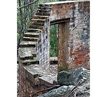 Step Up To Oblivion Photographic Print