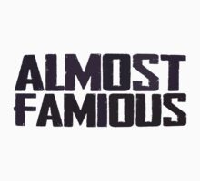 Almost famous - almost a celebrity by byzmo