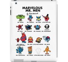 Mr Marvelous iPad Case/Skin