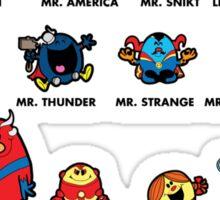 Mr Marvelous Sticker