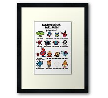 Mr Marvelous Framed Print