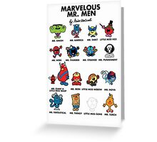 Mr Marvelous Greeting Card