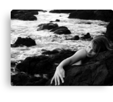 Resting by the sea. Canvas Print
