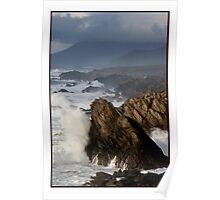 The Atlantic meets Ireland Poster