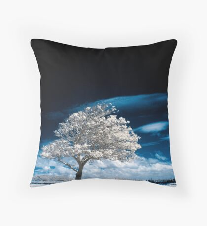 Beneath A Black Sky Throw Pillow