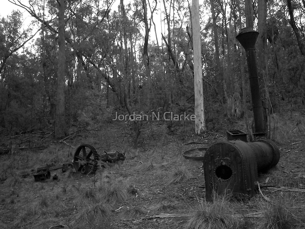 Karr's Reef Mine, Yackandandah, Victoria by Jordan N Clarke
