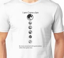 L5R Crane Clan Unisex T-Shirt