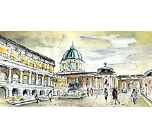 Buda Castle In Budapest Photographic Print