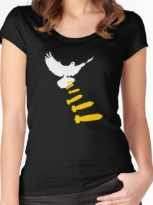 Vector bomb Women's Fitted Scoop T-Shirt