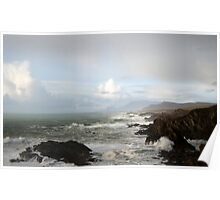 Atlantic Ocean next stop New York Poster