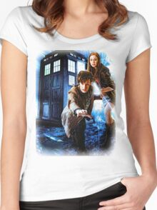 Action figures of Doctor Hoodie / T-Shirt Women's Fitted Scoop T-Shirt