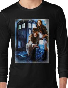 Action figures of Doctor Hoodie / T-Shirt Long Sleeve T-Shirt