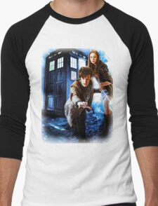 Action figures of Doctor Hoodie / T-Shirt Men's Baseball ¾ T-Shirt