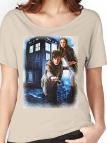 Action figures of Doctor Hoodie / T-Shirt Women's Relaxed Fit T-Shirt